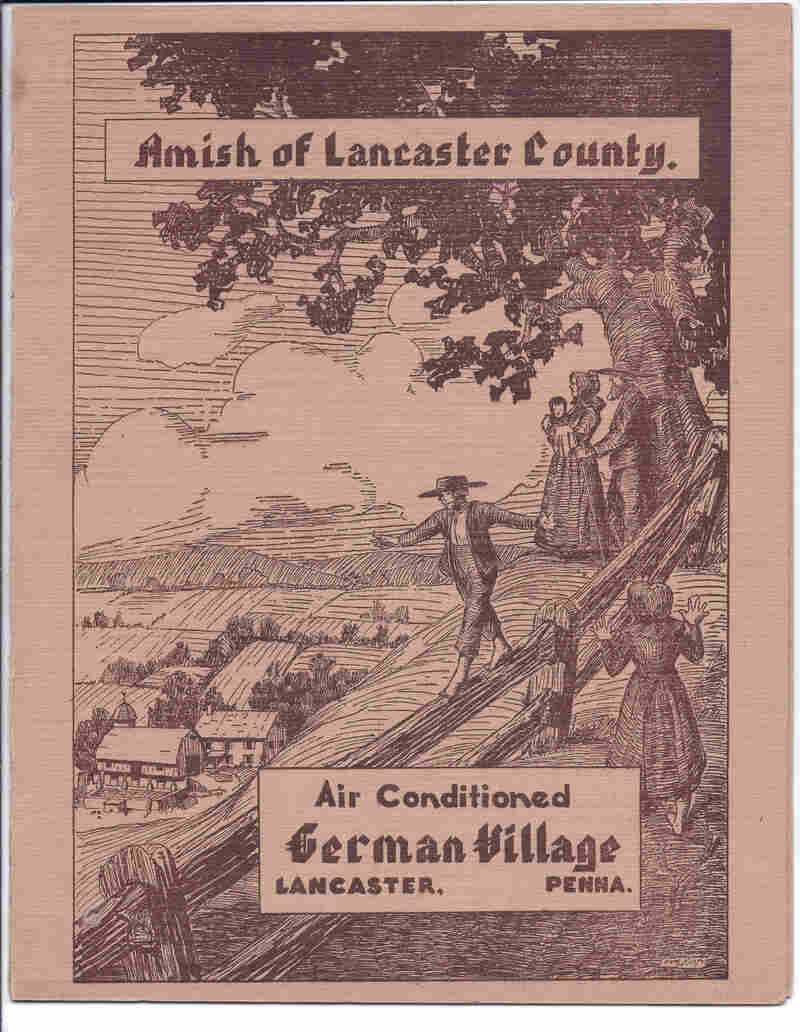 "Weekend trips from the city to eat chicken and waffles and other ""country"" fare have been popular for many decades, as this 1937 menu cover for the German Village in Lancaster, Pa., reflects."