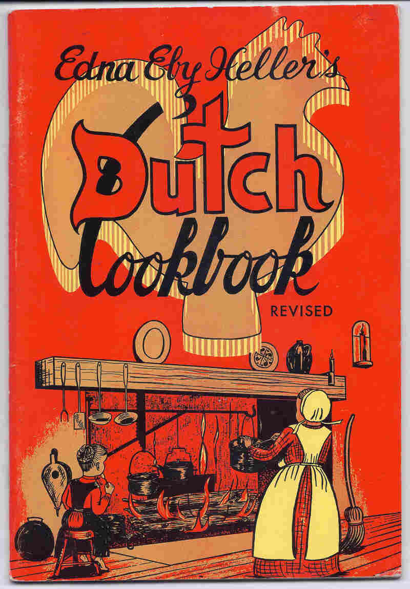 Edna Eby Heller, a native of Lancaster, Pa., helped popularize 20th century Pennsylvania Dutch dishes like chicken and corn soup in five cookbooks. Here, the cover of a 1974 edition of her Dutch Cookbook.