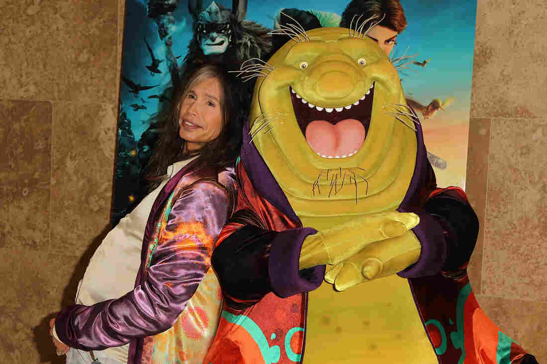 Steven Tyler poses with character Nim Galuu, the character he voices in the upcoming film Epic.
