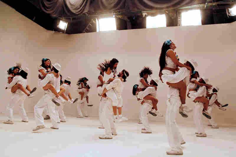 Dancers perform for the Bollywood film Shortcut Romeo in Mumbai in April.