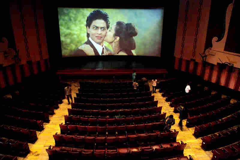 Dilwale Dulhania Le Jayenge, starring Shahrukh Khan and Kajol, plays in Mumbai in April.