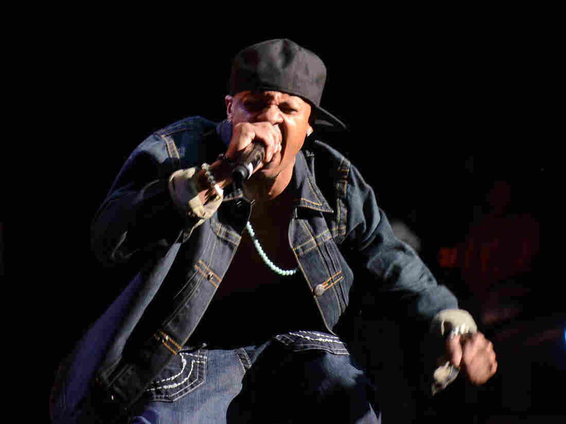 "Chris ""Mac Daddy"" Kelly during a performance on Feb. 23 in Atlanta."