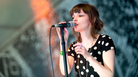 Lauren Mayberry of Chvrches performs at the South by Southwest festival in Austin, Texas, in March.