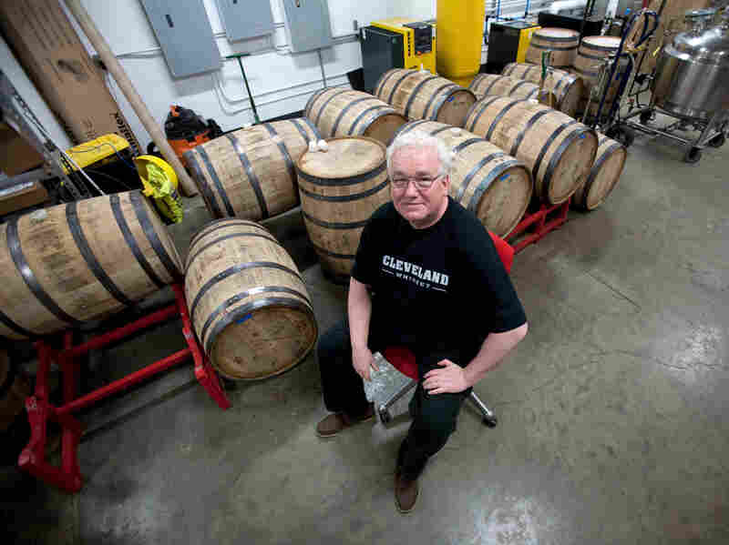 Cleveland Whiskey founder Tom Lix learned to make spirits when he was in the Navy.