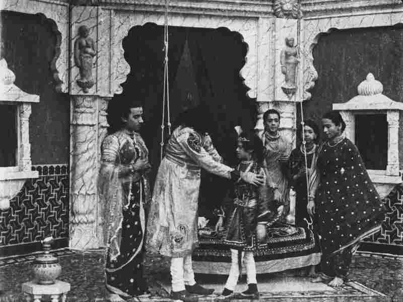 The film Raja Harischandra features an all-male cast, some of whom played female roles.