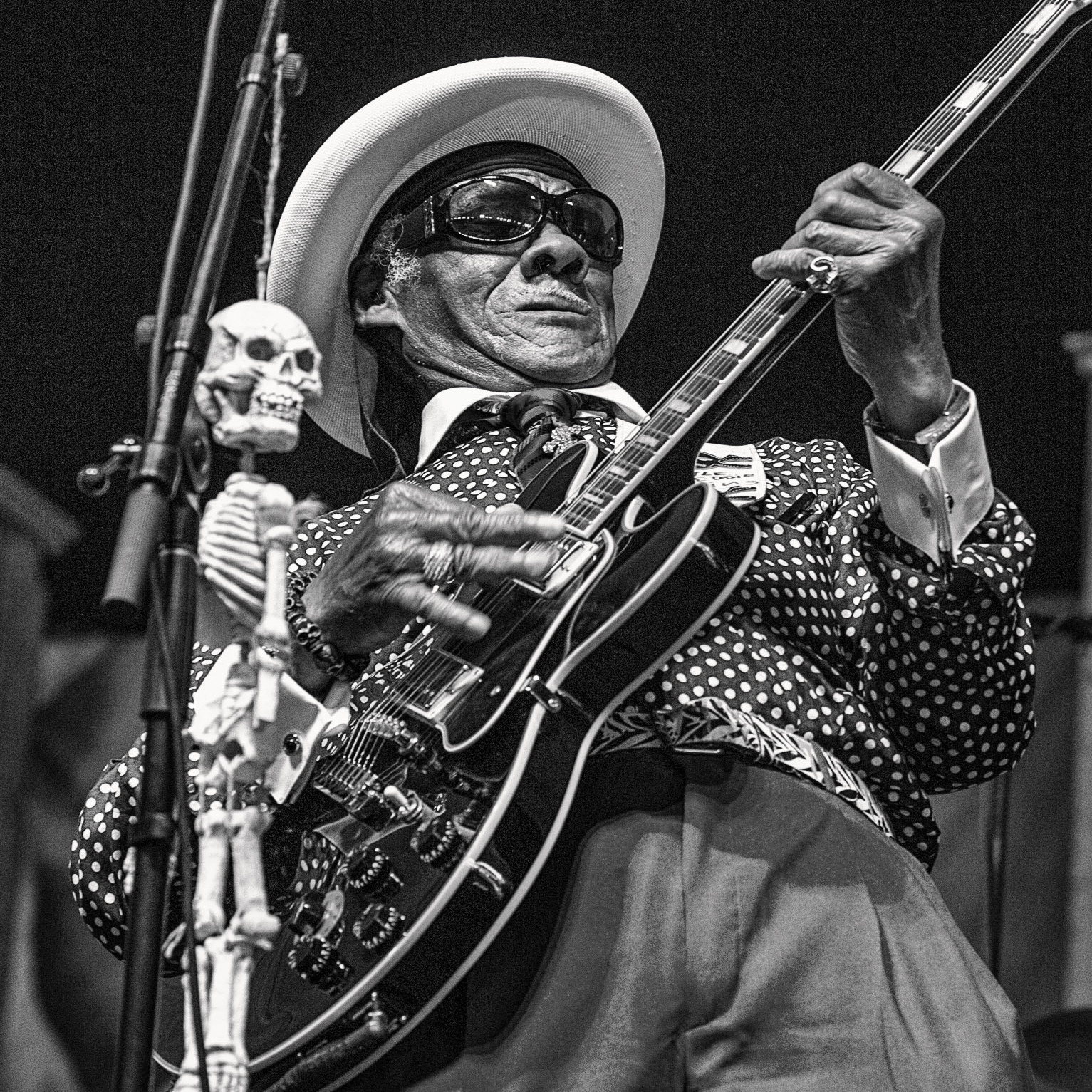 Little Freddie King at the New Orleans Jazz & Heritage Festival, 2013.