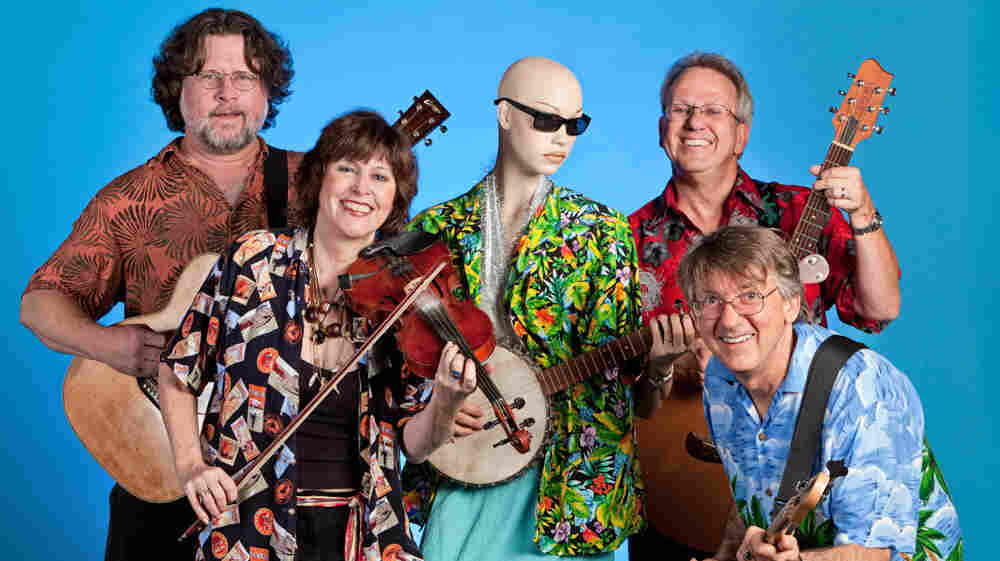 The Austin Lounge Lizards' new album is called Home and Deranged.