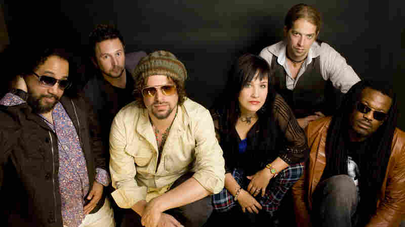 Rusted Root On Mountain Stage