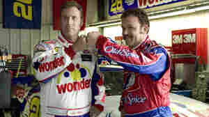 Will Ferrell and John C. Reilly in Adam McKay's Talladega Nights: The Ballad of Ricky Bobby.