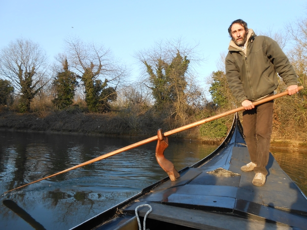 Nicolo Zen, director of Traditional Boat Museum of Venice, launched a crowd funding project to save one of the last <em>traghetto</em> gondolas — everyday boats used by the city's locals.