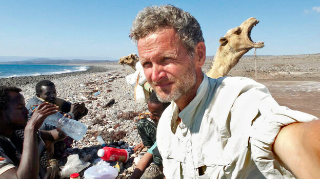 Journalist Paul Salopek reaches the Red Sea as part of his planned seven-year, 27,
