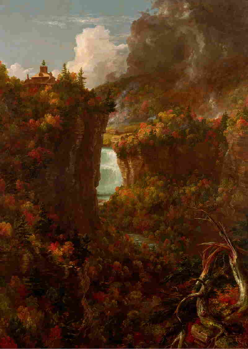Thomas Cole completed Portage Falls on the Genesee in 1839.