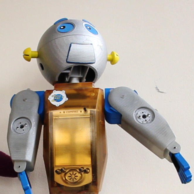 The evolution of CosmoBot, a robot designed by Dr. Corinna Lathan to help kids with learning disabilities.
