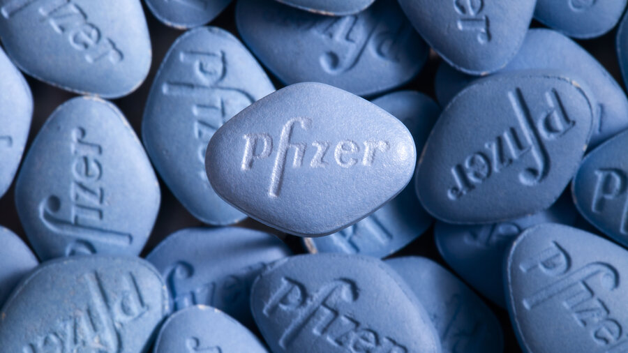 pfizer goes direct with online viagra sales to men shots