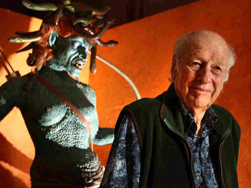 Medusa from 1981's Clash of the Titans is among legendary animator Ray Harryhausen's many creations.