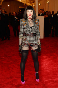 Madonna is not impressed with any of these other people's efforts at punk, I suspect.