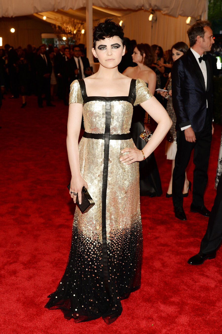 At The Met Ball, Those Are Some Crazy Dresses : Monkey See : NPR