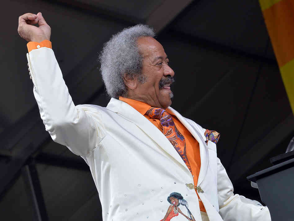Allen Toussaint performs during the 2013 New Orleans Jazz and Heritage Music Festival. He would also play a small club after the festival finished for the day.