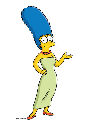 The inspiration for Marge Simpson, from the animated series The Simpsons, died April 22. Margaret Groening, the mother of Simpsons' creator Matt Groening, was 94.