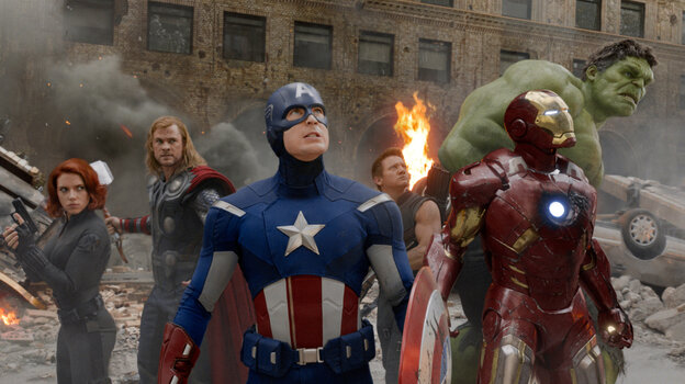 Marvel superheroes: they've arrived.