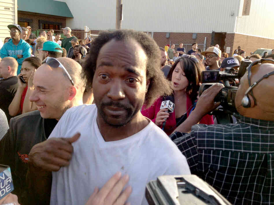 Charles Ramsey, who responded to shouts for help and triggered the ...