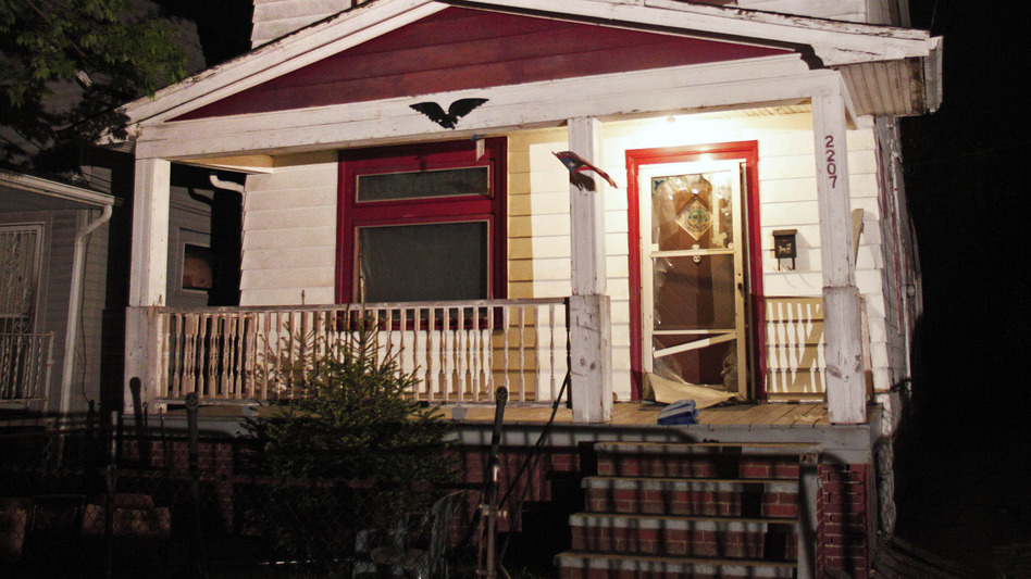 The Cleveland home where three young women who had been missing for nine to 11 years were found Monday. (Getty Images)