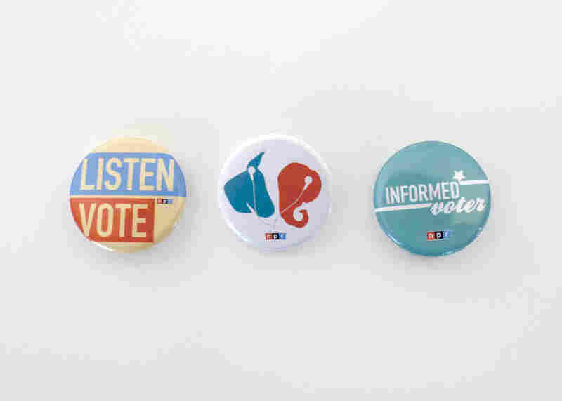 "2012 NPR Election Buttons Win Silver ""ADDY"" For Creative Services and Branding Team"