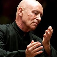 Conductor Christoph Eschenbach.