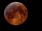 Image of a red moon