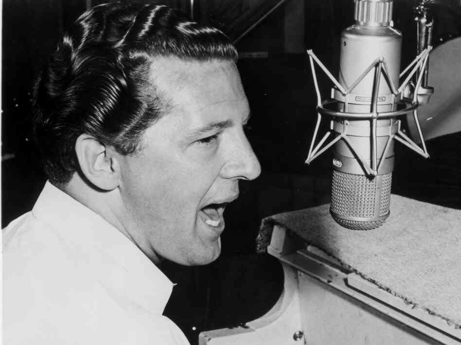 "Jerry Lee Lewis shot to fame in the 1950s with hits such as ""A Whole Lotta Shakin' Goin' On"" and ""Great Balls o"