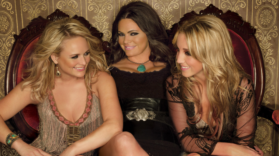 Miranda Lambert, Angaleena Presley and Ashely Monroe, country stars in their own right, form the trio Pistol Annies. (Courtesy of the artist)
