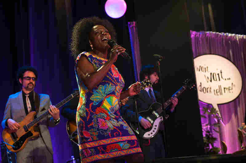 Sharon Jones & the Dap-Kings played between segments and even offered a funky version of the Wait Wait... Don't Tell Me! theme music.