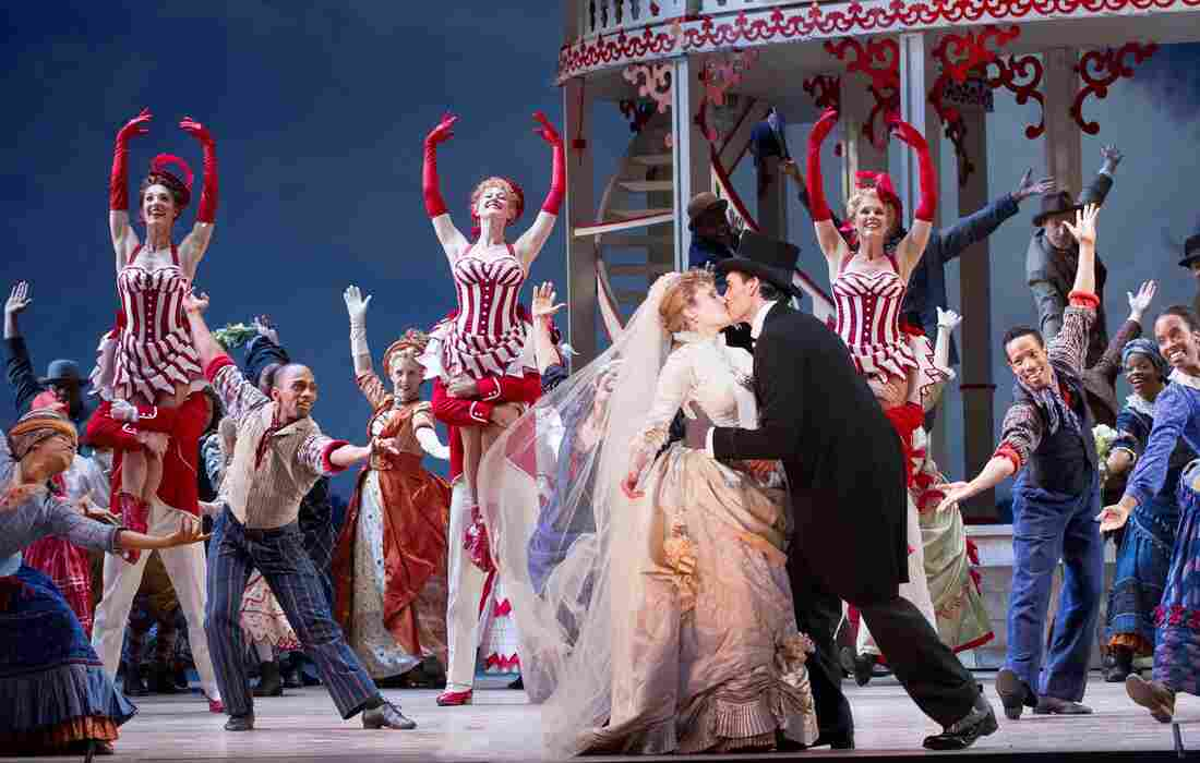 Crowded with a cast of 100 and awash in circus-bright colors, the Washington National Opera's Show Boat revival is a vivid reminder that the classic is first and foremost entertainment — despite its darker themes.