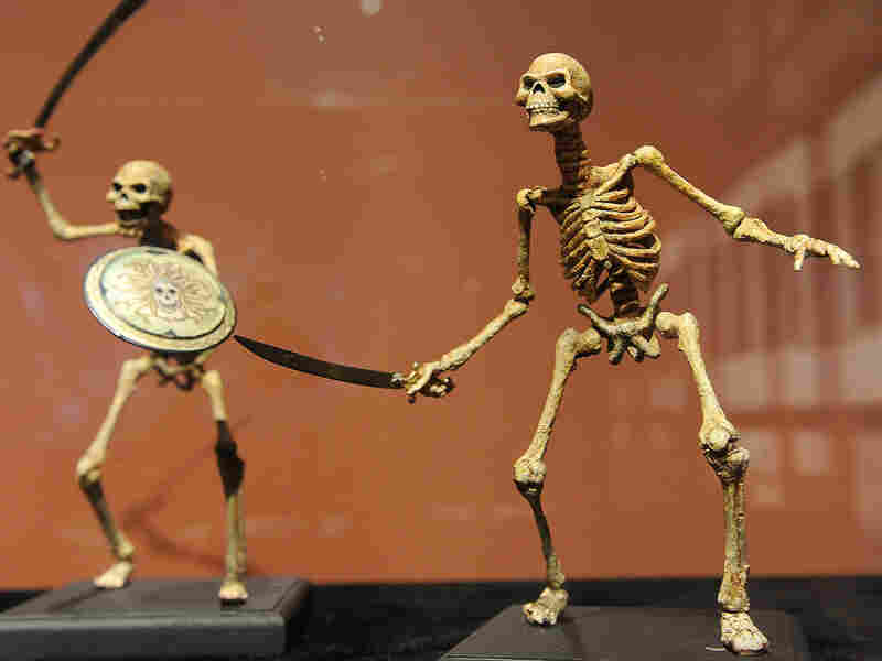 Harryhausen designed and animated the skeleton soldiers from 1963's Jason and the Argonauts.
