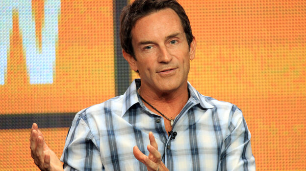 Jeff Probst, seen here in the summer of 2012, is a TV host, and is not actually the president.
