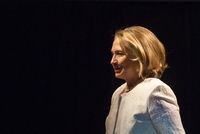 Former Secretary of State Hillary Clinton at the Kennedy Center on April 2.