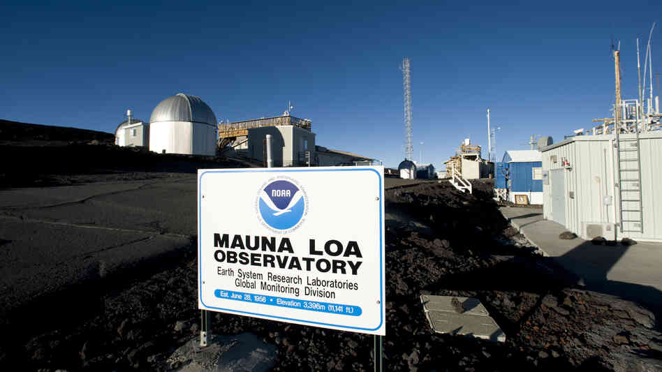 "Carbon dioxide readings at the Mauna Loa Observatory in Hawaii have reached what atmospheric scientist Ralph Keeling calls a ""psychological threshold"" of 400 parts per million. The amount of carbon dioxide in the atmosphere has been steadily increasing since near-constant measurements began at the observat"
