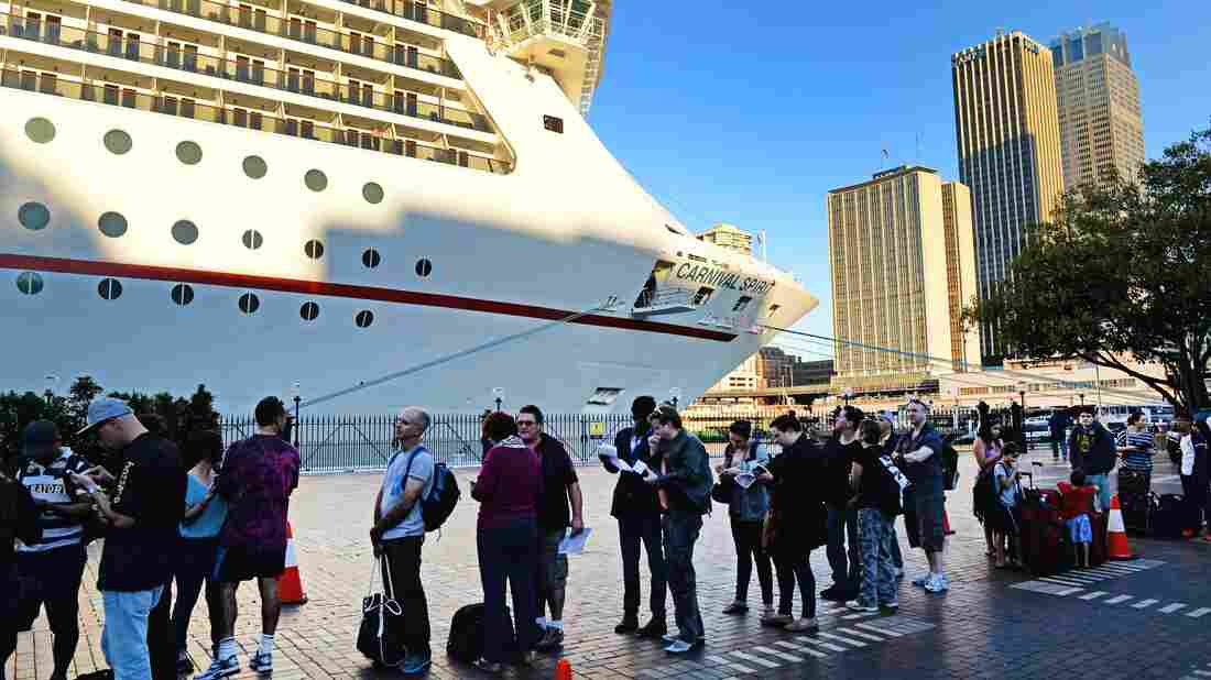 Search Ends Off Australia For Two Cruise Ship Passengers