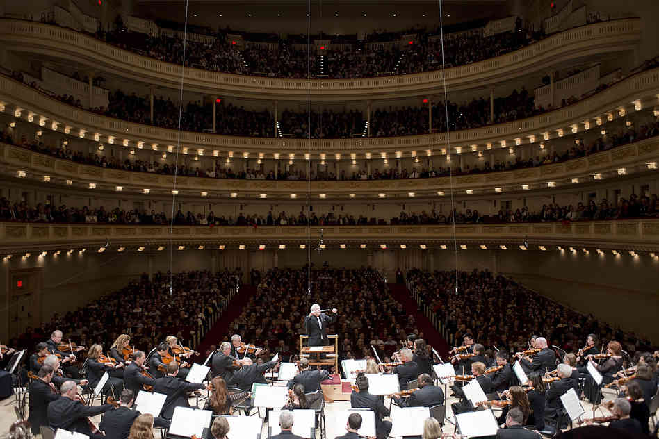 Playing Carnegie Hall, often called the temple of classical music, is a point of pride for any orchestra, especiall