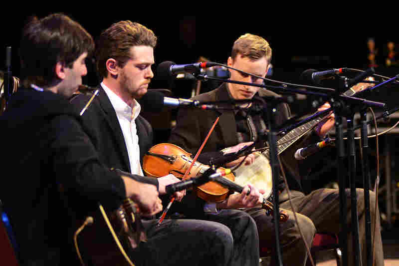 The Down Hill Strugglers recently appeared on Mountain Stage for the first time.