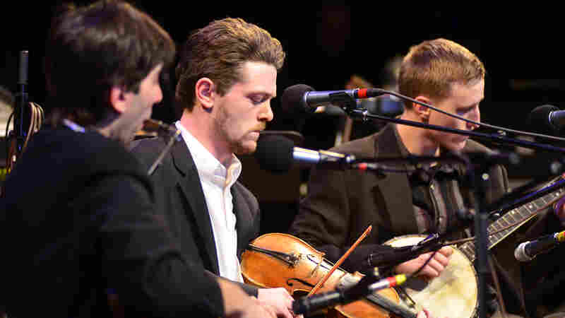 The Down Hill Strugglers On Mountain Stage