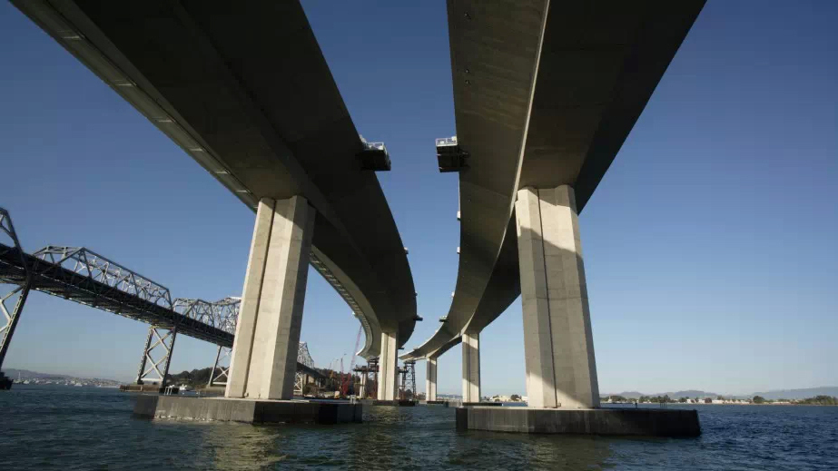 California's Bay Bridge Hits Trouble Ahead Of Opening Day