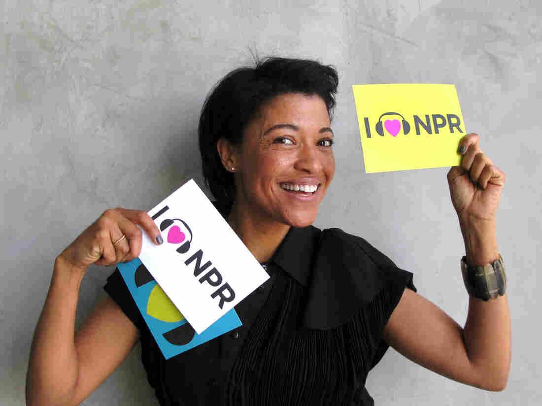 Tina Gordon Chism at NPR West.