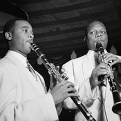 Jimmy Hamilton (left) and Harry Carney were among the reedmen who played clarinet for the Duke Ellington Orchestra.
