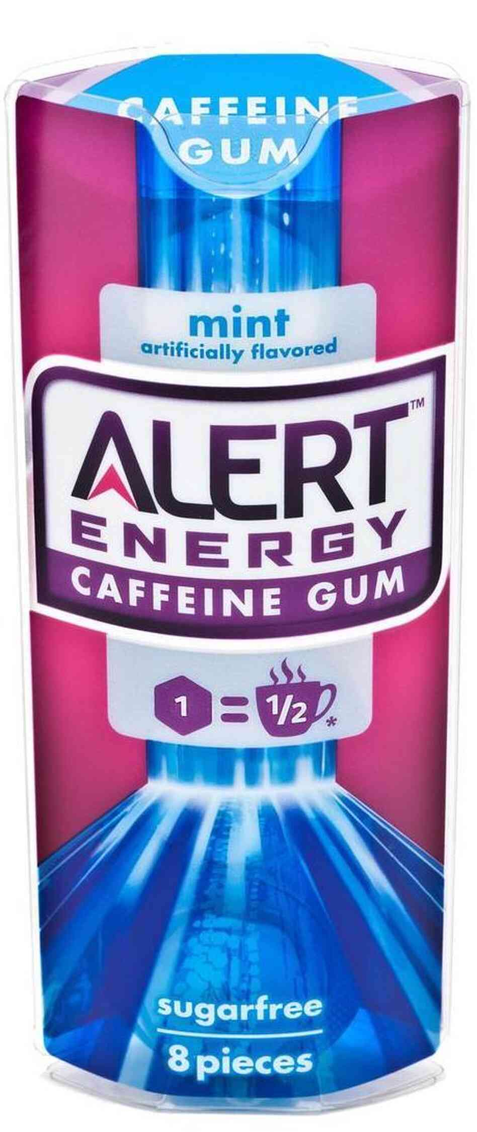 Wrigley took its new Alert Energy Caffeine Gum off the market after it pr