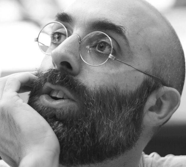 Guatemalan author Eduardo Halfon's most recent book, The Polish Boxer, mesmerized us.