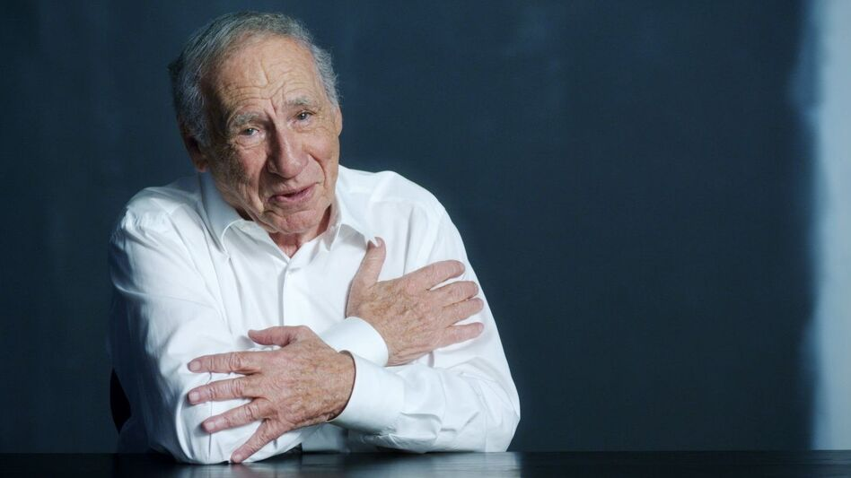 Once vehemently opposed to the idea of being the subject of a documentary, Brooks had a change of heart. The result is a new American Masters episode, Mel Brooks: Make a Noise. (WNET/American Masters)