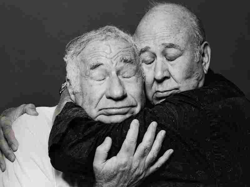 """Carl Reiner and Brooks teamed up as a comedy duo in 1960, creating such now-legendary skits as """"The 2,000-Year-Old Man."""" """"Carl's still my best friend in the world,"""" says Brooks."""