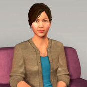 Ellie is a computer simulation designed to engage real people in meaningful conversation and take their measure. The computer system looks for subtle patterns in body language and vocal inflections that might be clues to underlying depression or other emotional distress.
