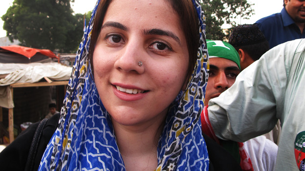 One of the few women competing in Pakistan's parliamentary election on Saturday is Naz Baloch, 33, a first-time candidate. She's the daughter of a politician, but is running for a different party than her father. (NPR)